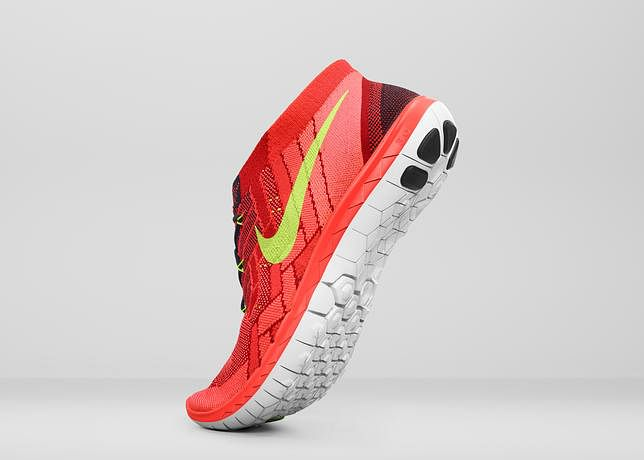 Nike introduces three evolved running styles: Nike Free 3.0 Flyknit, Nike Free 4.0 Flyknit and Nike Free 5.0