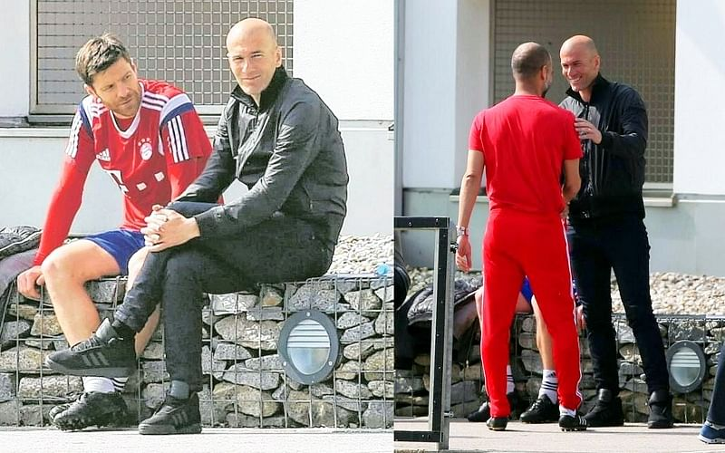 Zinedine Zidane flies to Germany to learn from Bayern Munich manager Pep Guardiola