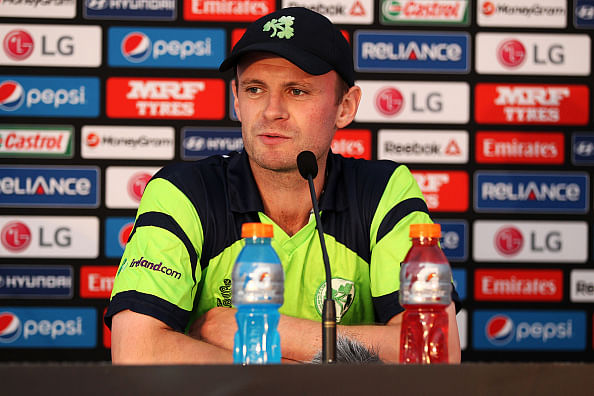 No point in Associates playing cricket if World Cup is reduced: Ireland captain William Porterfield