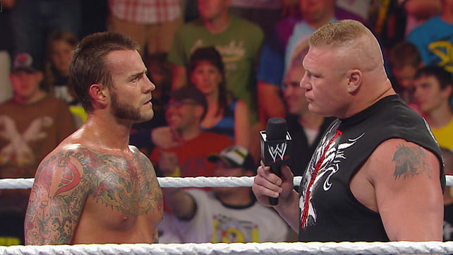 CM Punk talks advice from Lesnar, Wrestlers-MMA, Training