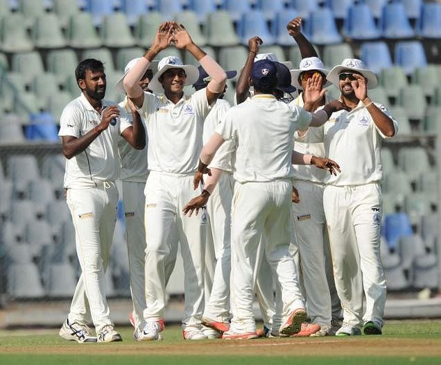14 wickets fall on opening day of Ranji final