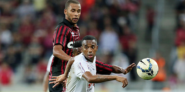 Santos in bid to sign Brazilian star Robinho