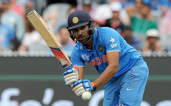 ICC Cricket World Cup 2015: Rohit Sharma's century powers India to 302/6 against Bangladesh
