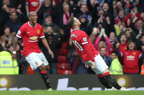 Video: Wayne Rooney and Louis van Gaal respond to questions on 'knockout' goal celebration