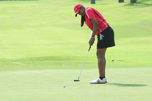 Saaniya Sharma leads in Hero women's golf