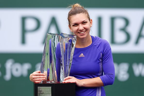 Simona Halep beats Jelena Jankovic to win the BNP Paribas Open title
