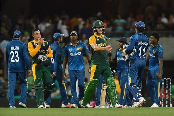 South Africa vs Sri Lanka - Quick flicks of the match
