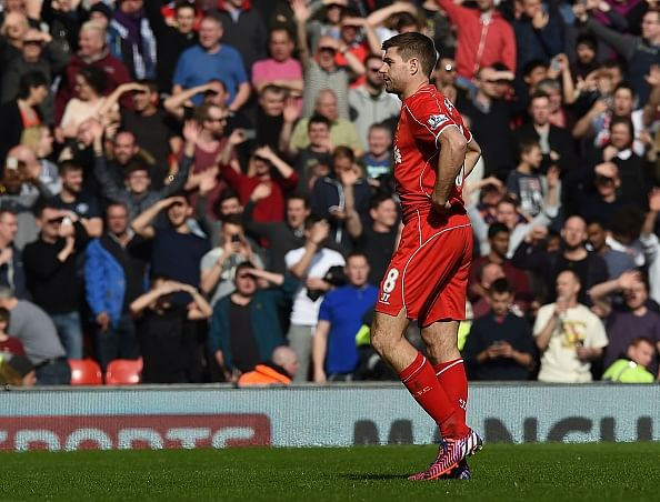 Twitter reaction to Steven Gerrard's red card 40 seconds after kick-off against Manchester United