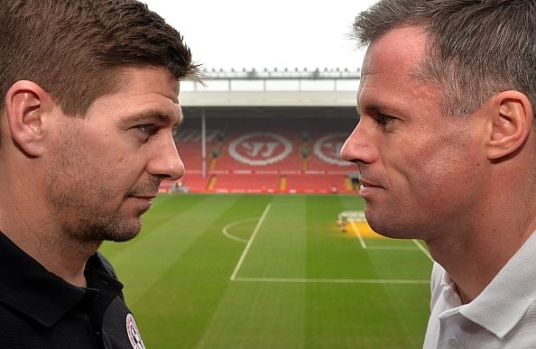 Steven Gerrard and Jamie Carragher's Anfield All-Star Match starting XIs