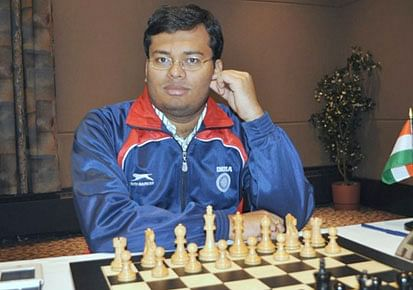 Surya Shekhar Ganguly in joint lead in International Grandmasters chess
