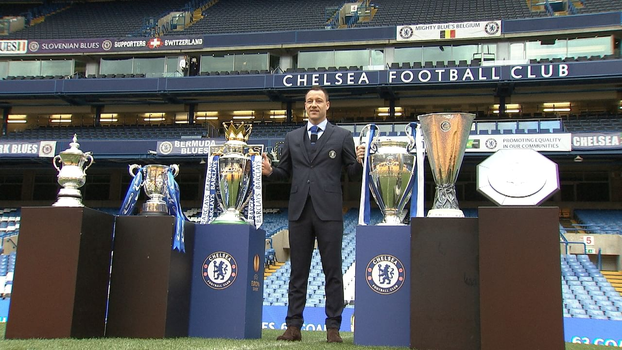 Chelsea captain John Terry signs new deal with the Blues