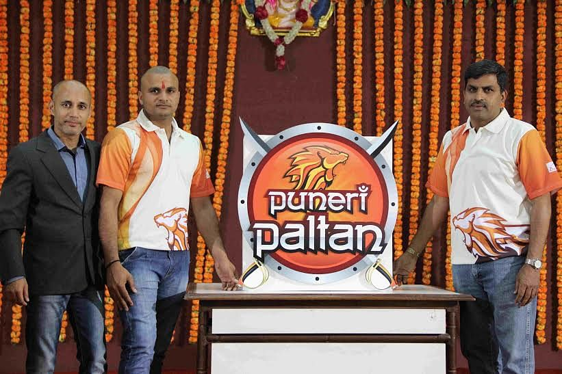 Insurekot Sports unveil new logo of 'Puneri Paltan'
