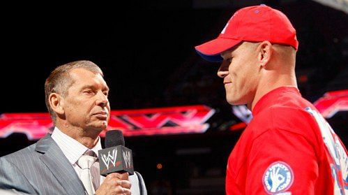 Cena calls Vince inspirational, Fans want HBK movie, NY Giants backstage