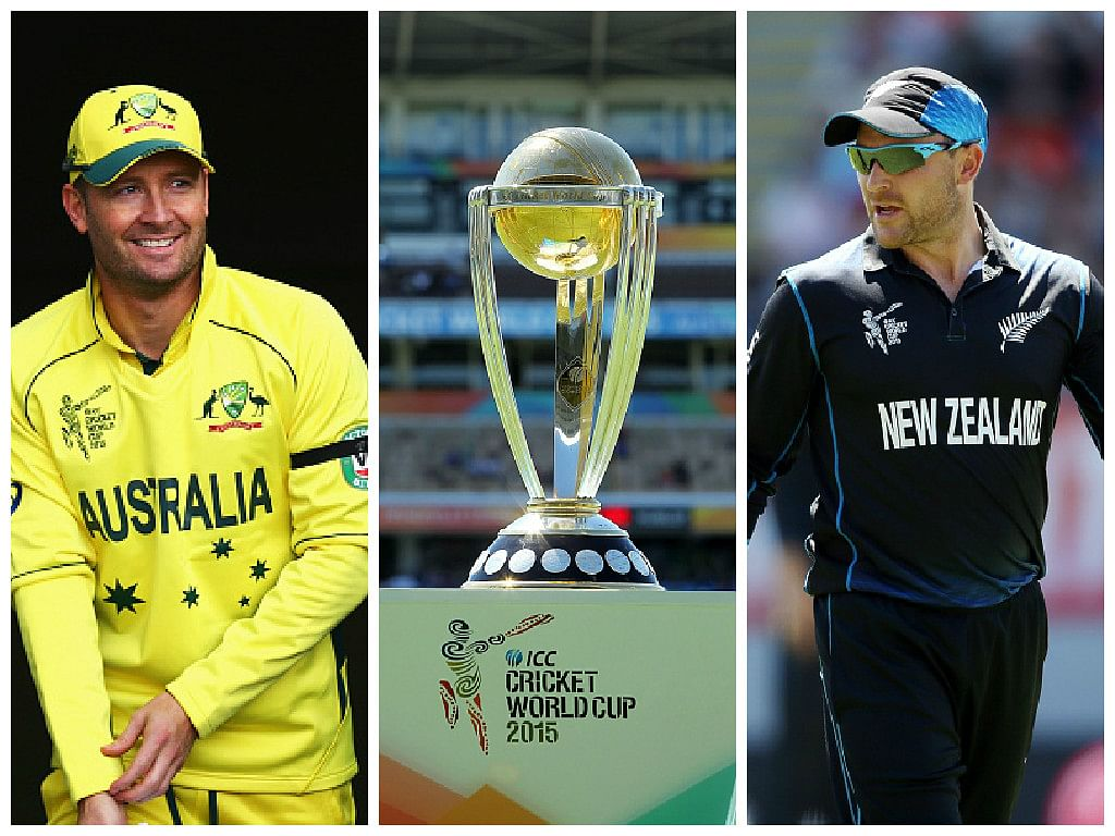 ICC World Cup 2015 Finals: Australia vs New Zealand - Player vs Player stats