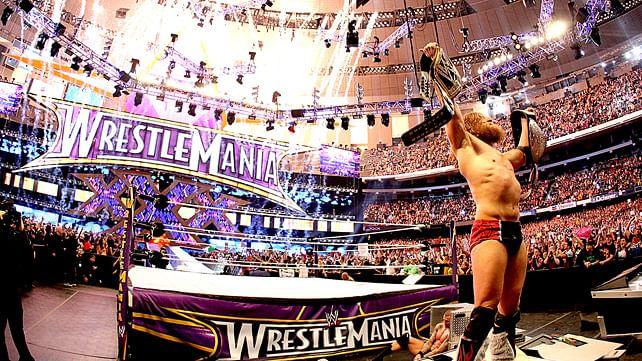 WrestleMania Rewind: Daniel Bryan vs. Batista vs. Randy Orton at WrestleMania XXX