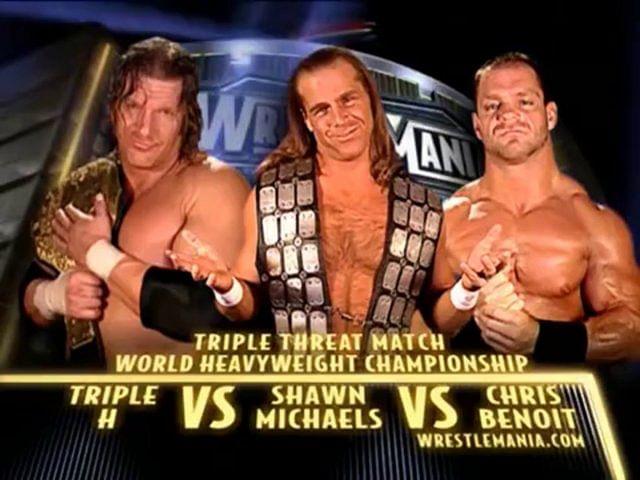 WrestleMania Rewind: Chris Benoit vs. Shawn Michaels vs. Triple H at WrestleMania XX