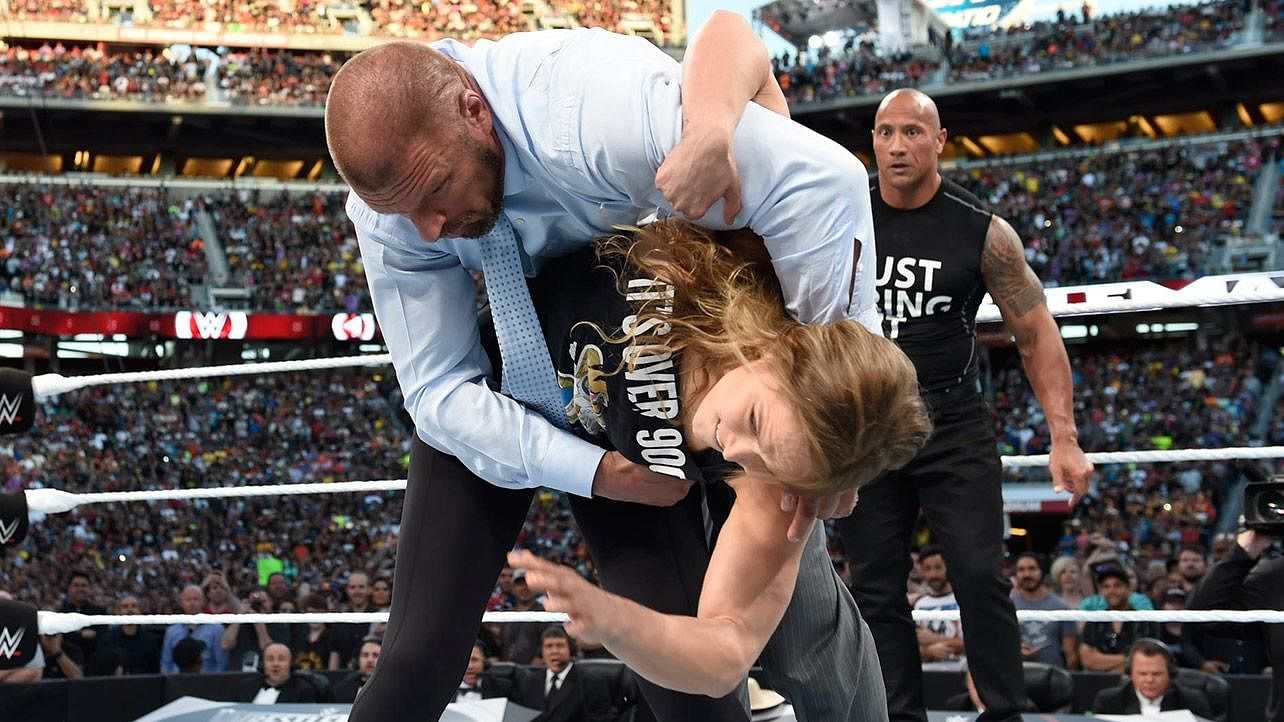 Wrestlemania 31- 5 Most Memorable moves from the PPV