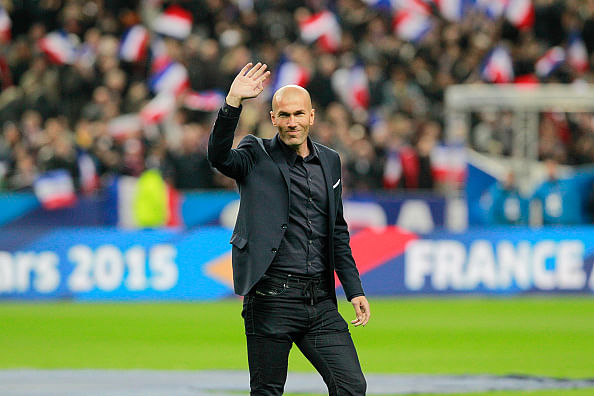 Zinedine Zidane expresses his desire to manage Real Madrid and France one day
