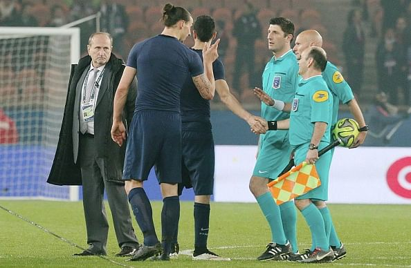 Video: The moment when a referee showed Zlatan Ibrahimovic who the real boss is