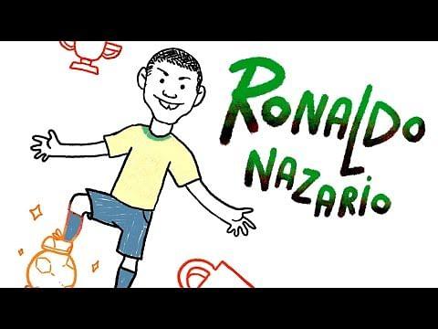 Video: Ronaldo's career in colourful illustrations