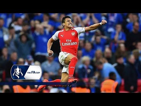 Highlights: Alexis Sanchez brace helps Arsenal beat Reading 2-1 at Wembley to reach FA Cup final