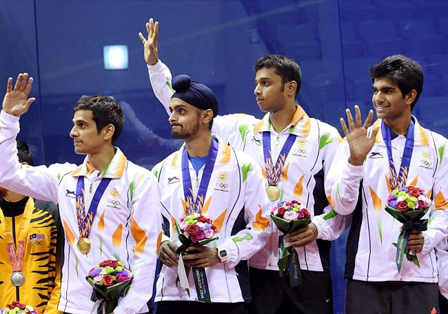 India bags three Asian Squash Federation awards