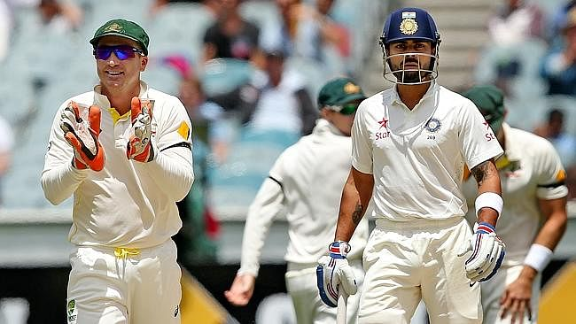 The place of sledging in cricket - Brad Haddin's rudeness and Virat Kohli's silent insult