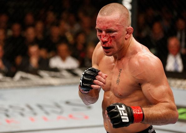 UFC Superstar Georges St. Pierre would