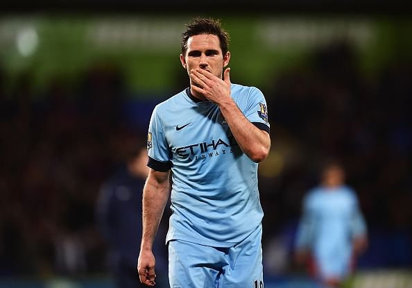 Video: Frank Lampard's reaction on being called a Manchester City legend on TV show