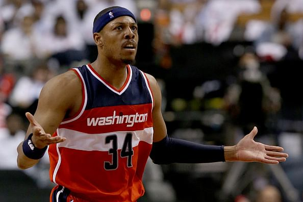 2015 NBA Playoffs: Washington Wizards steal home court from the Toronto Raptors to take Game 1 in overtime