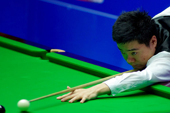 Ding Junhui crashes out of Snooker World Championships