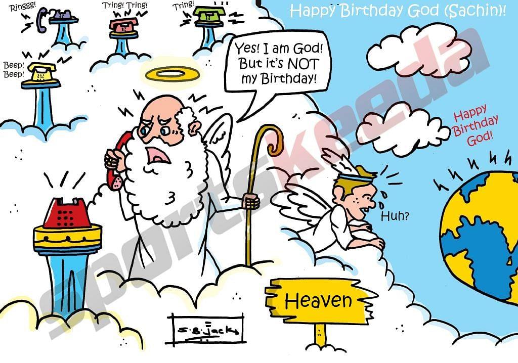 happy birthday funny cartoon