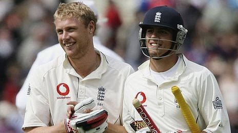 Andrew Flintoff backs England captain Alastair Cook, urges fans to support him