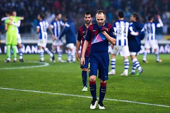 Andres Iniesta – The Rise, The Rust and now to Bite the Dust