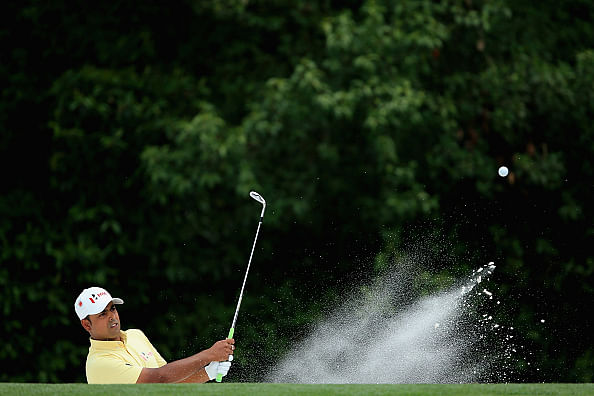 Anirban Lahiri prevails to make halfway cut at Augusta Masters