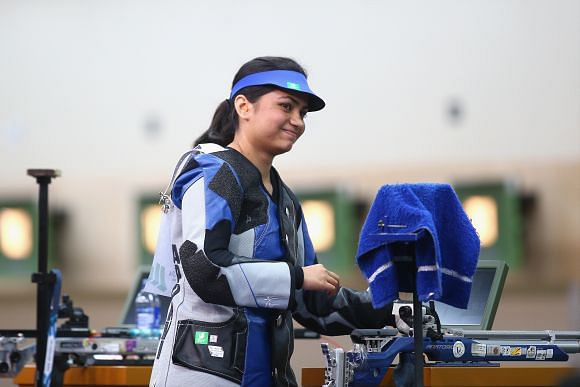 Indian shooter Apurvi Chandela qualifies for 2016 Olympics