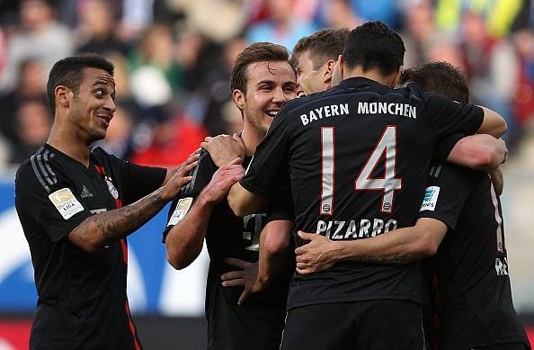 Bayern Munich earn hard fought 2-0 victory at Hoffenheim
