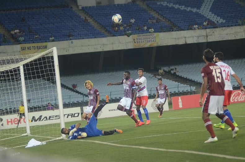 I-League: Stubborn Bharat FC go down 2-0 to clinical Mohun Bagan