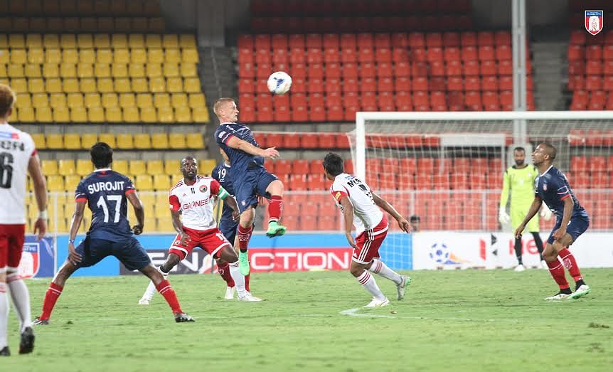 Uilliams Souza's late goal helps Shillong Lajong draw 1-1 against Bharat FC in Pune