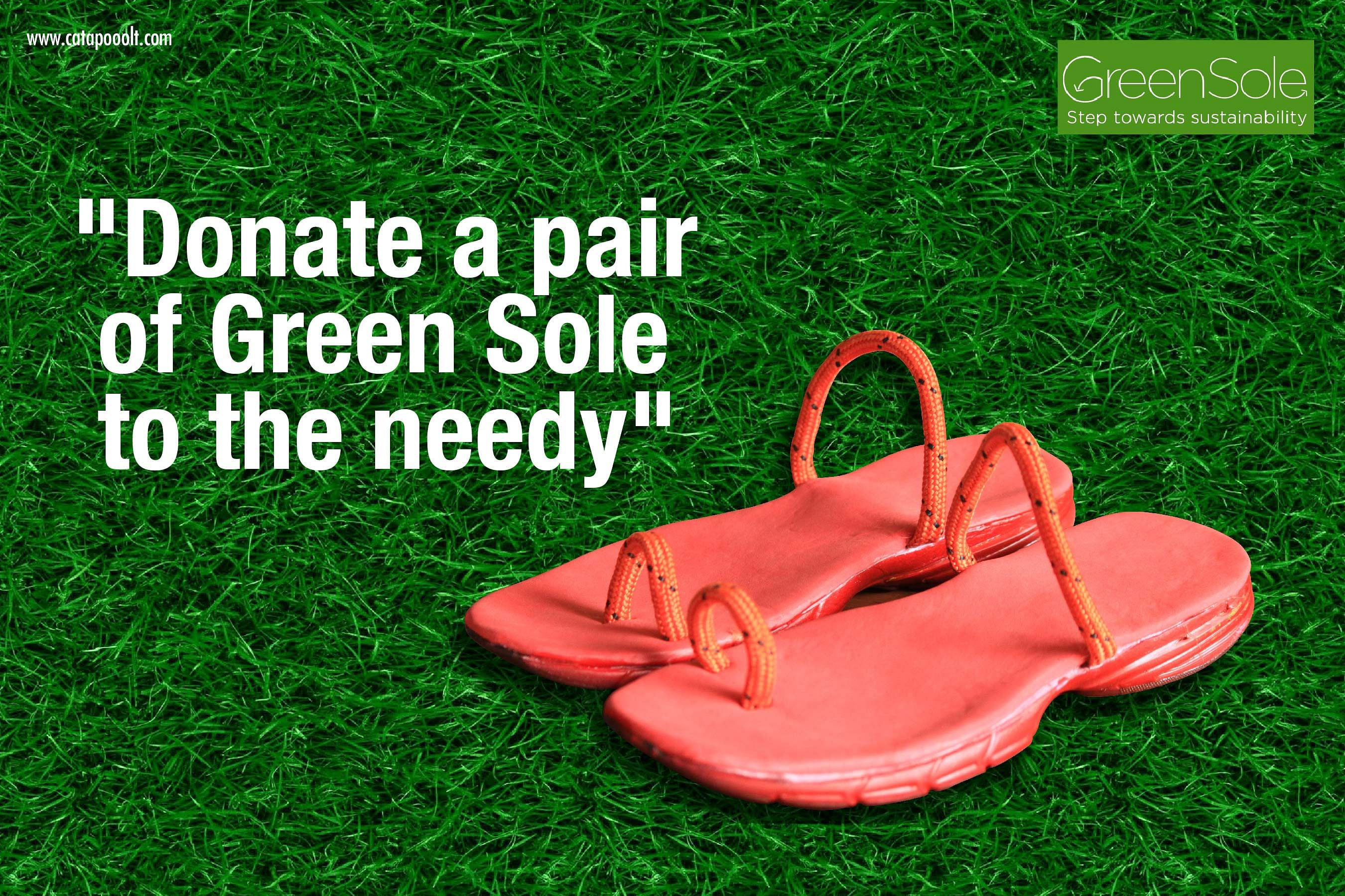 Support the Pioneers in refurbishing sports shoes into slippers!