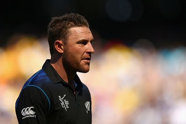Brendon McCullum named New Zealand's 'Cricketer of the Year'