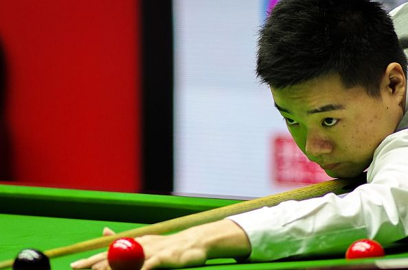 World Snooker Championship: Ding Junhui faces Mark Davies