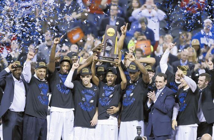 Duke win 2015 NCAA National Championship, edging Wisconsin in the Final