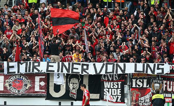 Leverkusen's Emir Spahic handed three-month ban for brawl
