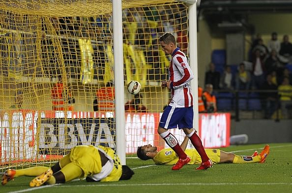 Video: Fernando Torres scores fantastic goal against Villarreal with a run from Atletico Madrid's half