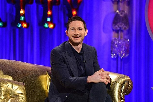 Video: Frank Lampard takes a friendly penalty on Alan Carr: Chatty Man