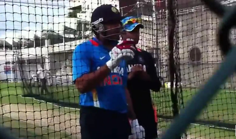 Video: Rohit Sharma and Praveen Kumar abuse unknown people for disturbing net practice session