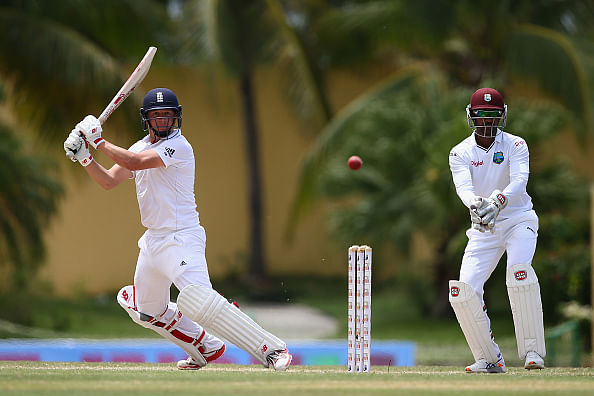 Devon Smith leads Windies fight but England on top