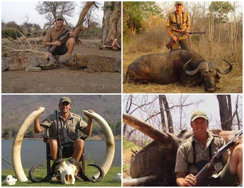Photographer posts Glenn McGrath's African hunting photos and receives death threats from hunters