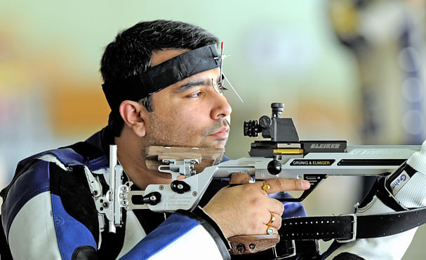 Indian trio qualify for final round in shooting World Cup